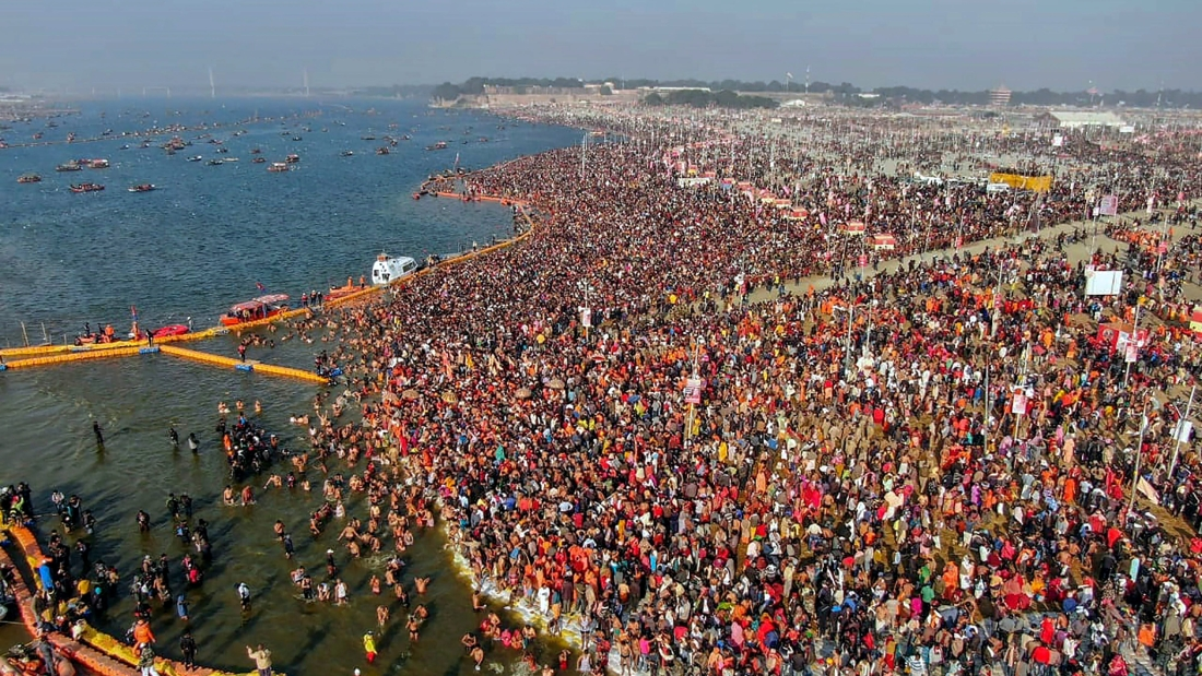 PRAYAG KUMBH -WORLDS BIGGEST EVER EVENT