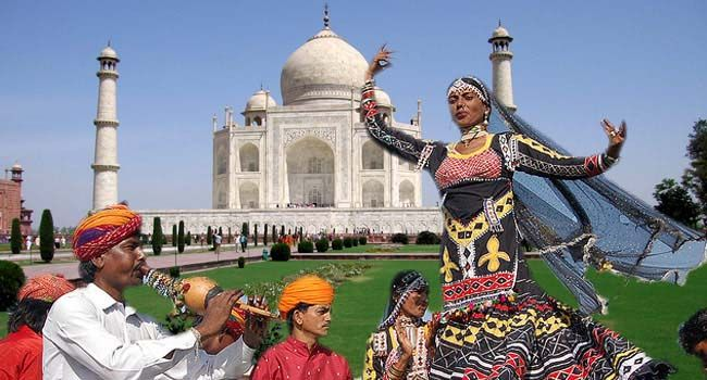 Events in Agra and Mathura