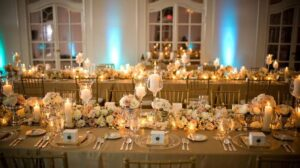 Golden Wedding theme
