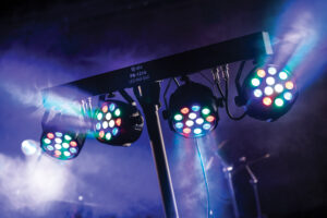 LED lights for event