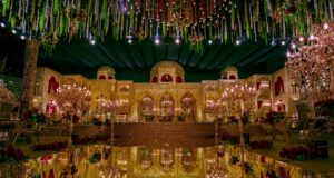 Mughal darbar themes for wedding