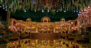 Mughal darbar themes for wedding