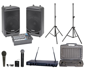Complete audio system