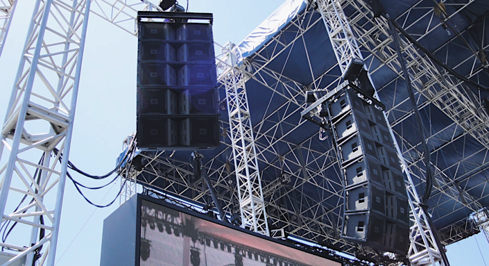 Audio systems for event