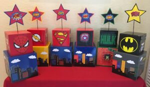 superhero theme event