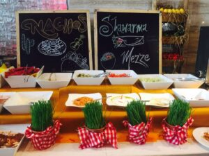 Food Counter Decor