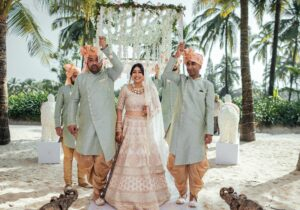 Make a Grand Bridal Entry with Your Better Half